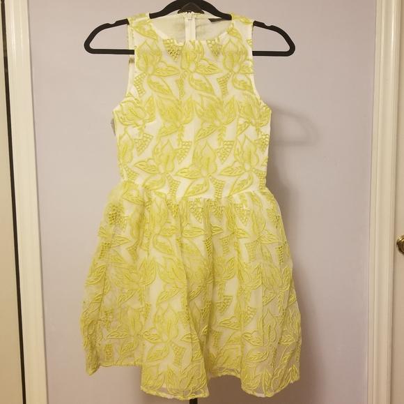 Topshop Dresses & Skirts - Topshop Leaves Stiching Dress